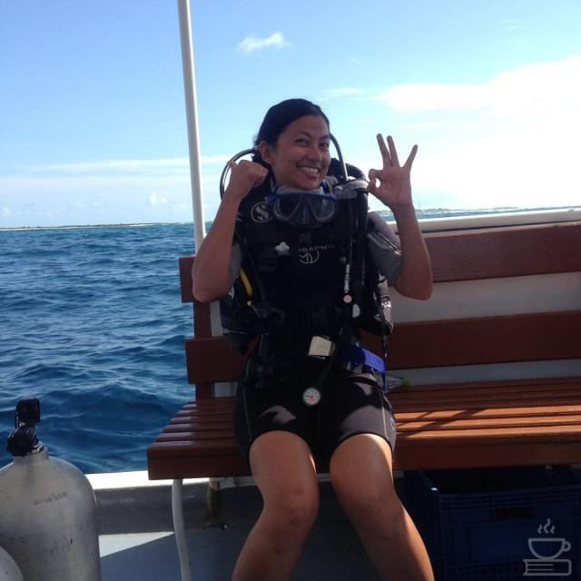 Dive in Maldives