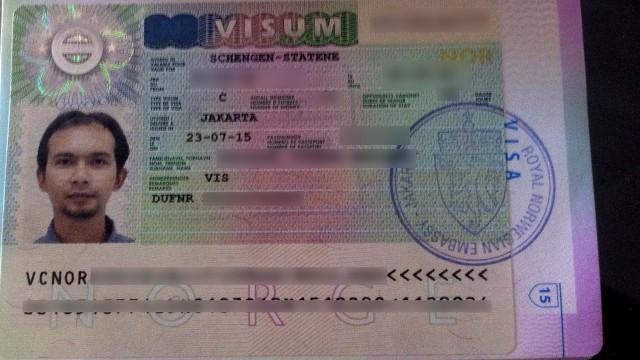 Visa Schengen Via Norwegia Travelish