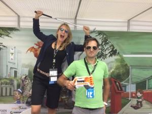 Nina&Gösta@gamescom