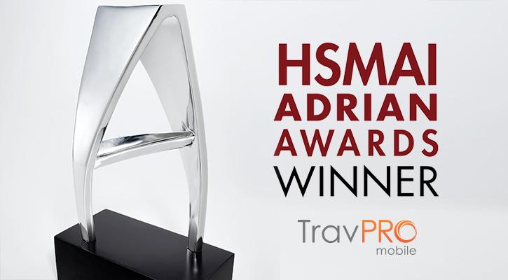 TravPro Mobile wins Hsmai Adrian Awards