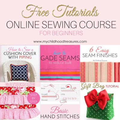 Learn to Sew Online – 100+ FREE Sewing Lessons for Beginners