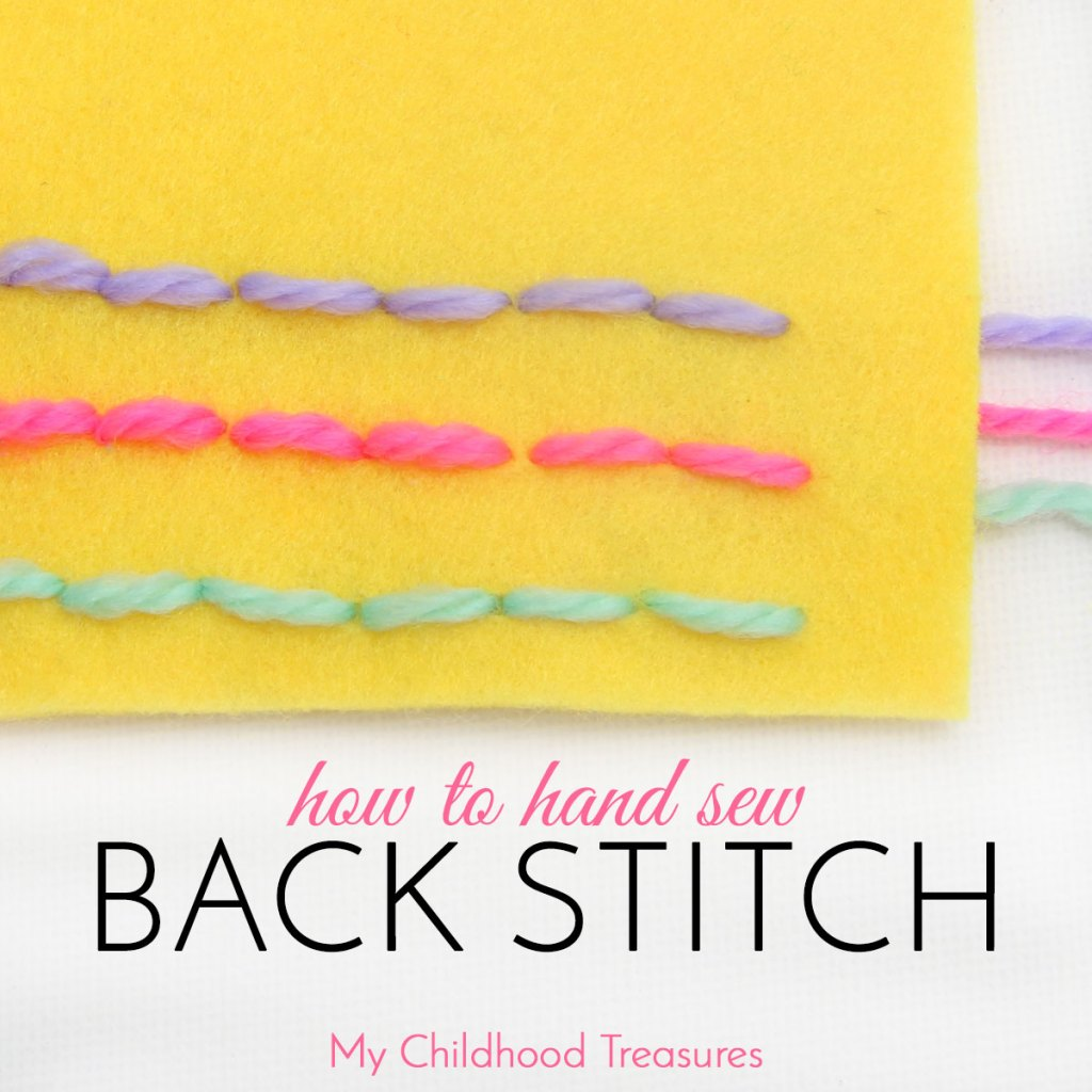 how to backstitch