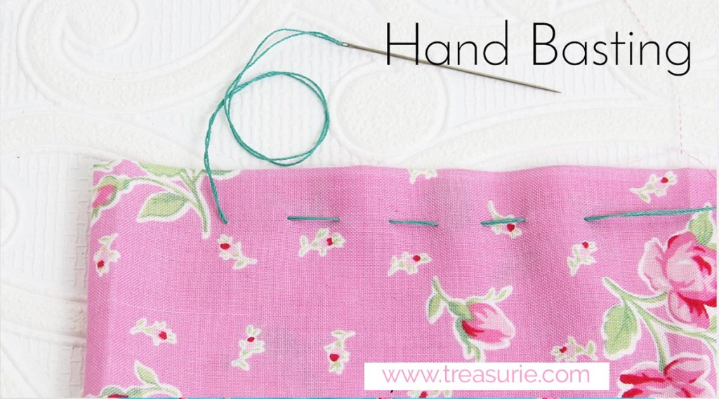 hand basting for sewing