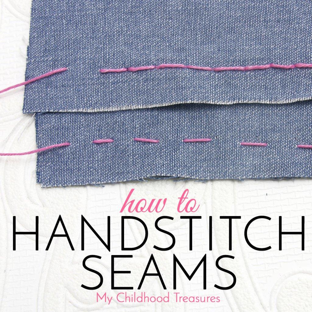 hand stitching seams