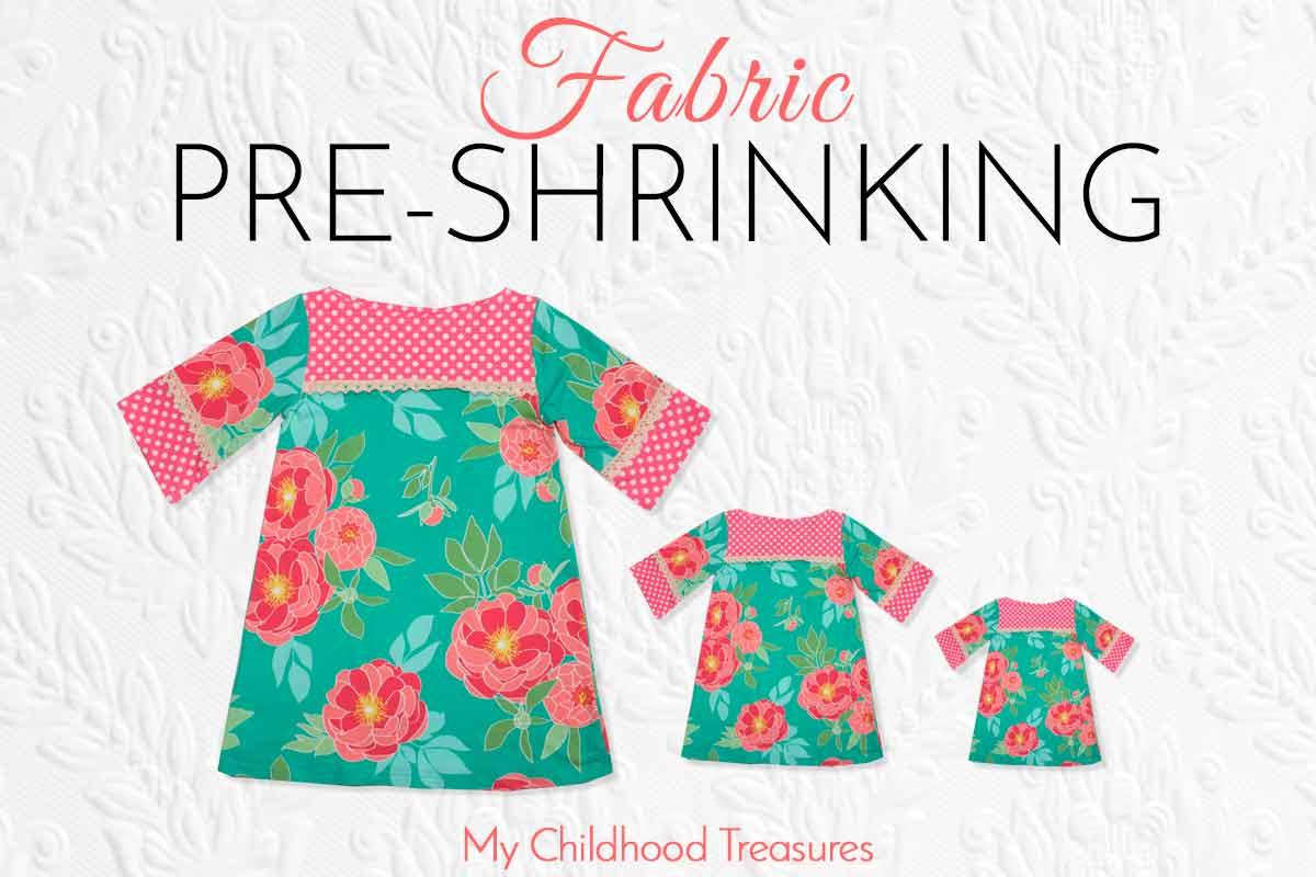 how to prewash fabric