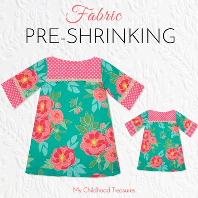 how to pre-shrink fabric
