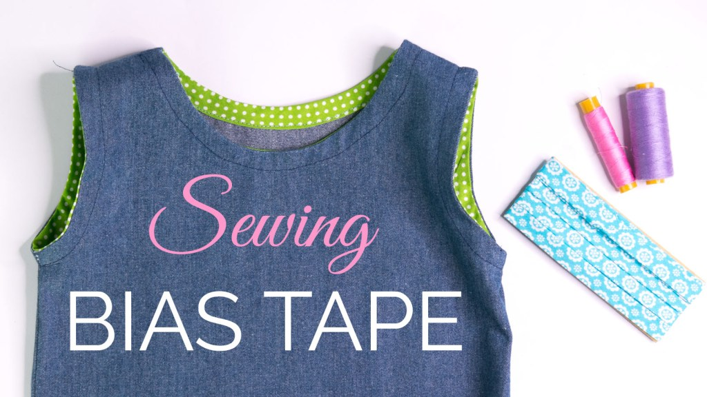 how to sew bias tape