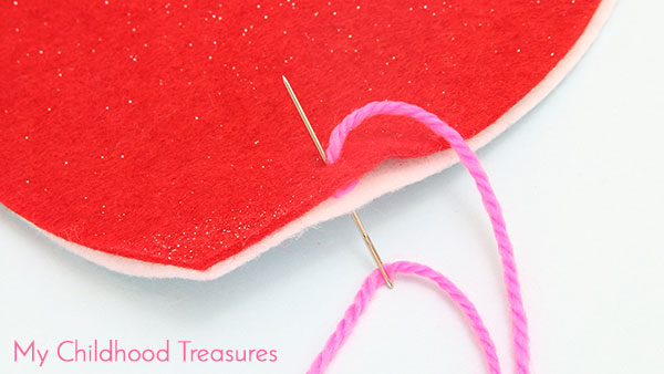 Step 2: How To Do Blanket Stitch