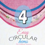how to sew a circular hem