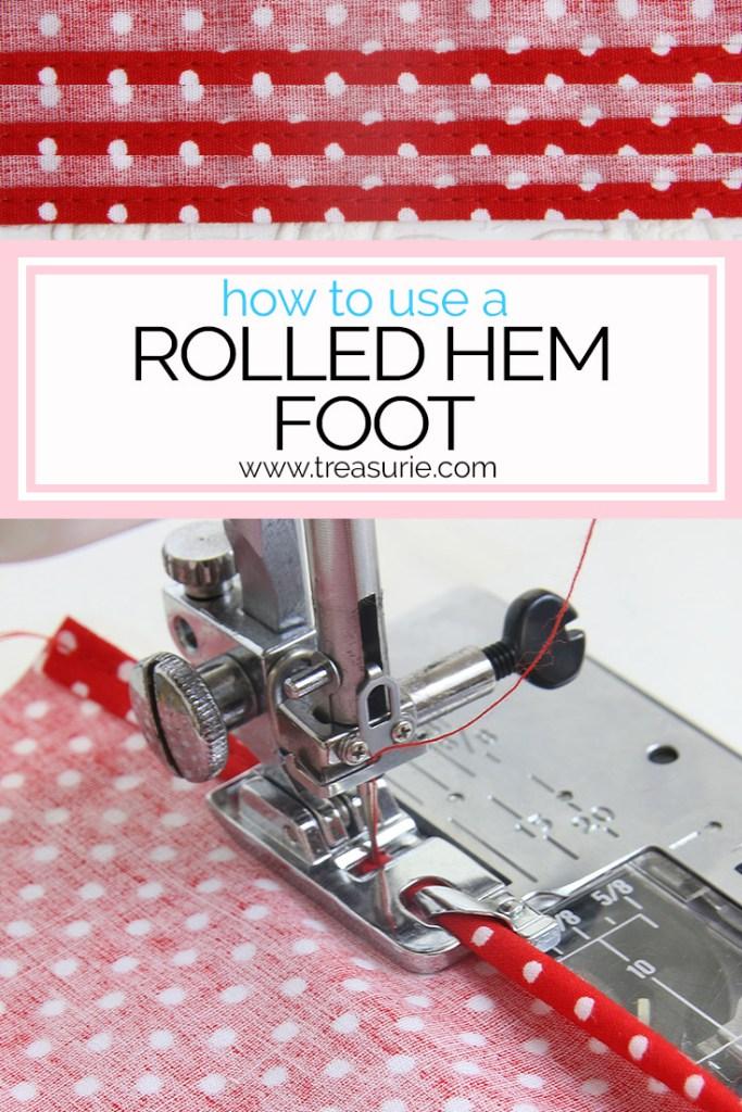 narrow foot hem, rolled hem foot