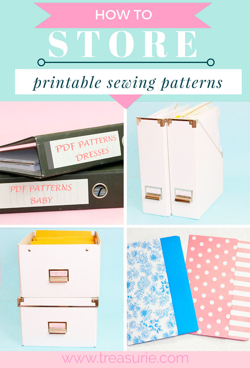 graphic relating to Printable Sewing Patterns titled Sewing Practice Storage - 8 Techniques in the direction of keep habits TREASURIE