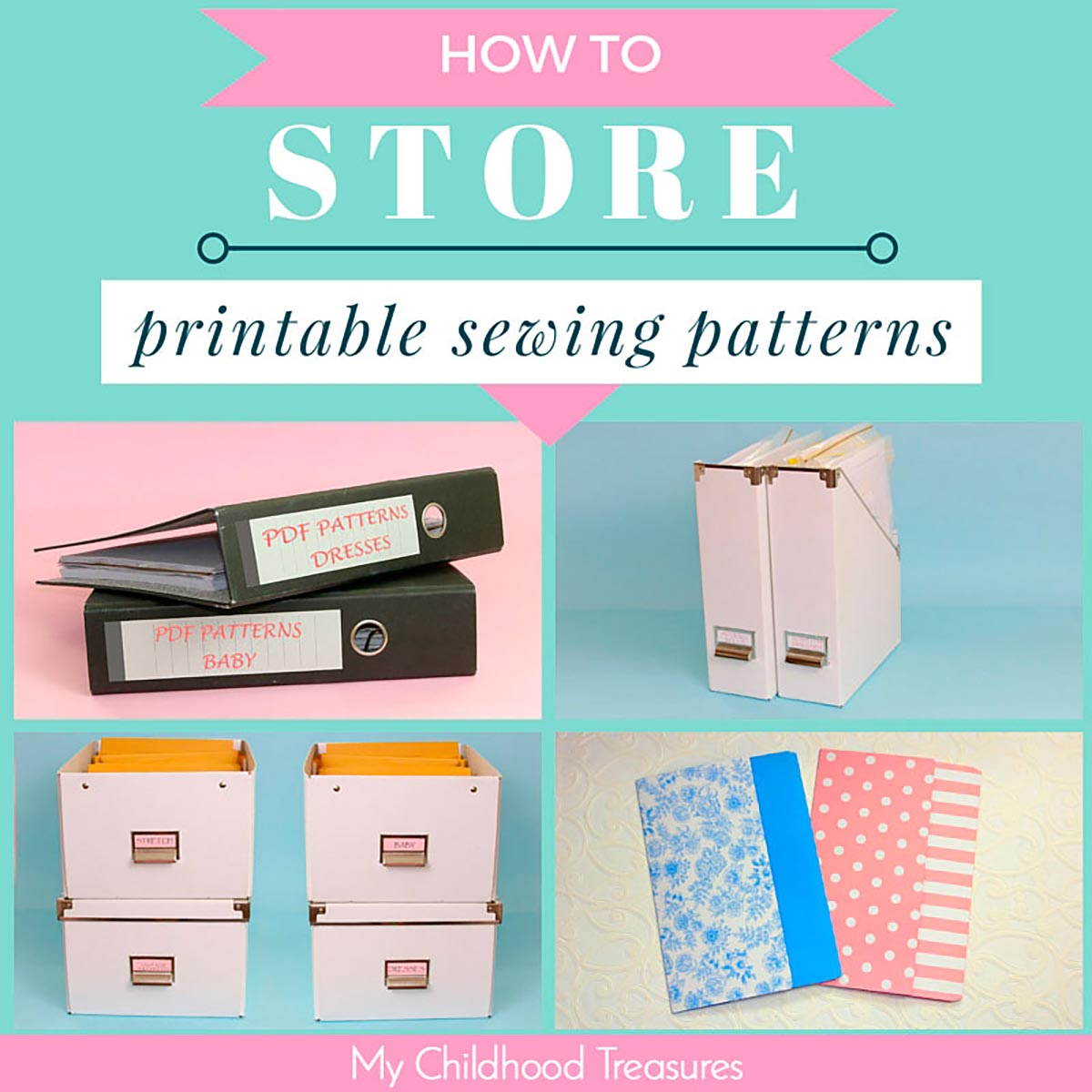 Sewing Pattern Storage Magnificent Inspiration Ideas