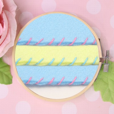 How to Sew Whip Stitch – Hand Applique Stitch