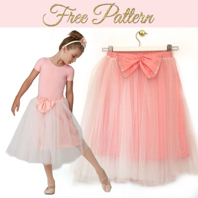 How to Make a Tutu Skirt – FREE Printable Pattern Included