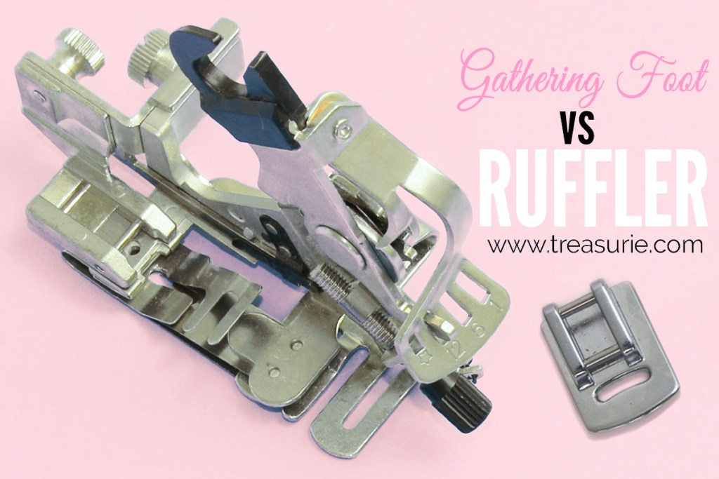 gathering foot vs ruffler