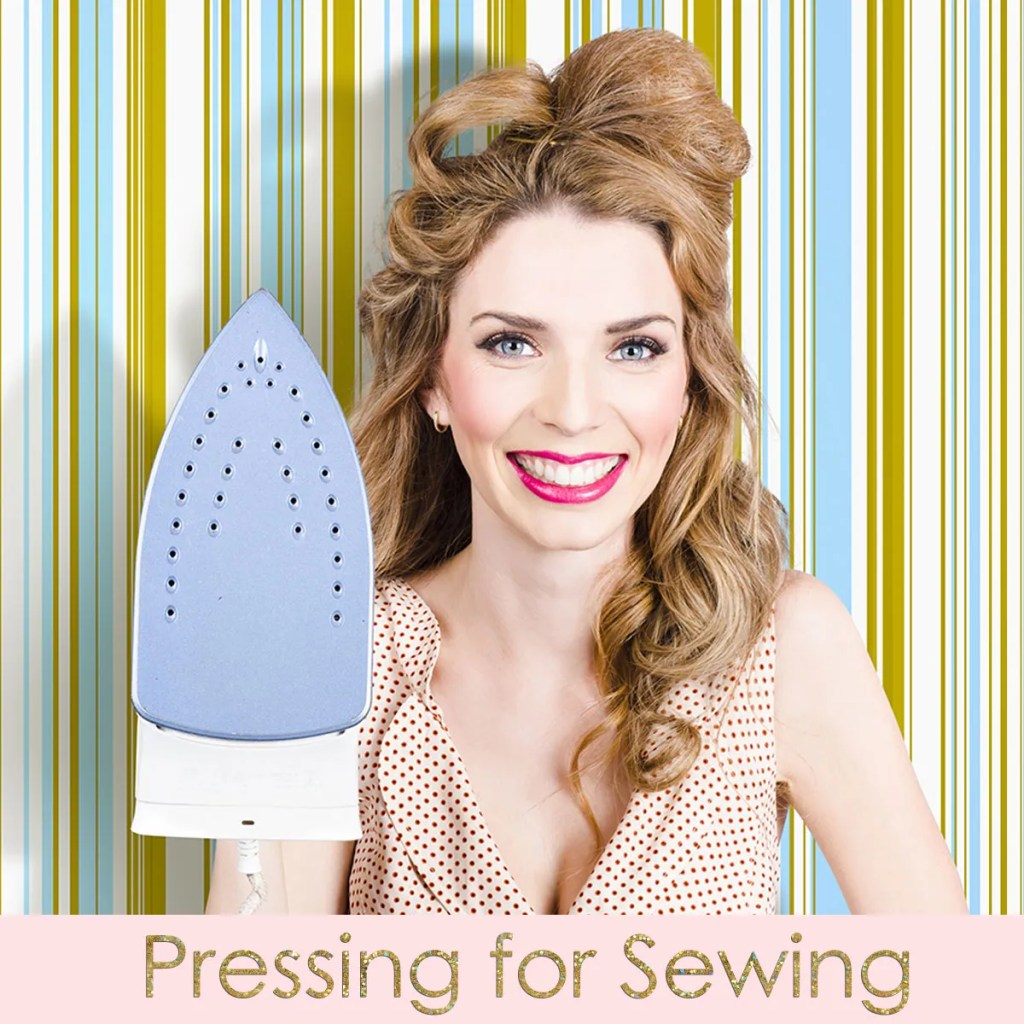 how to press fabric for sewing