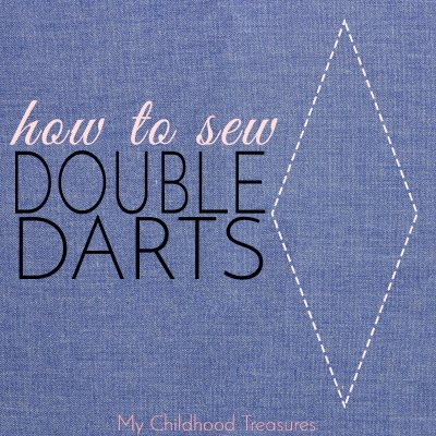 How to Sew Darts – Sewing Diamond or Double Darts