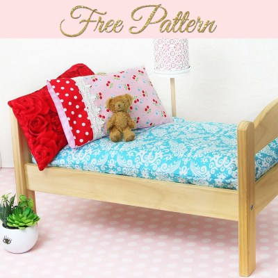 How to Make a Doll Mattress – DIY Doll Mattress Pattern