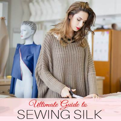how to sew silk, sewing silk