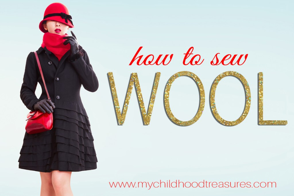 sewing wool fabric
