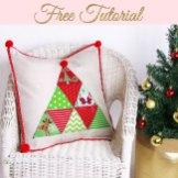 Christmas Cushion Tutorial
