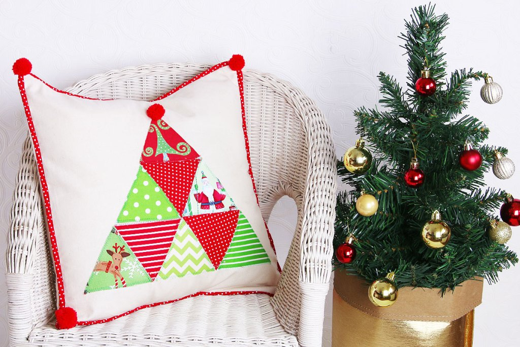Christmas cushion tutorial