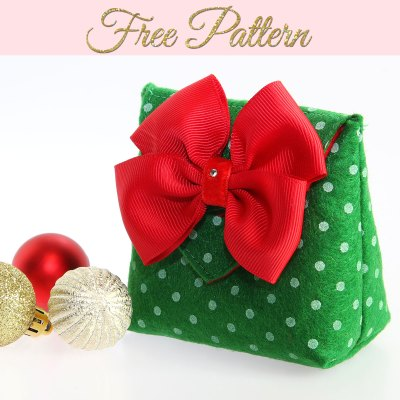 How to Make a Gift Bag: DIY Christmas Gift Bags FREE TEMPLATE