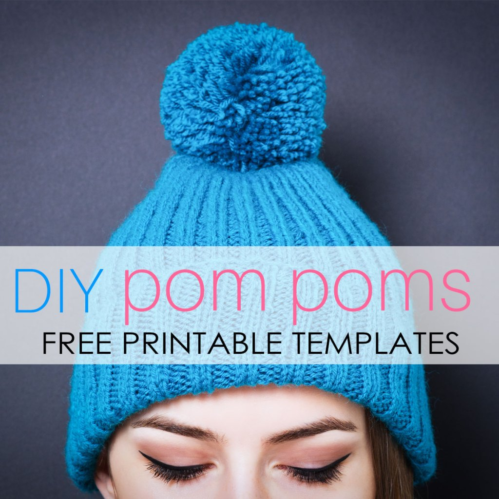 How To Make Pom Poms Printable Pom Pom Template Treasurie