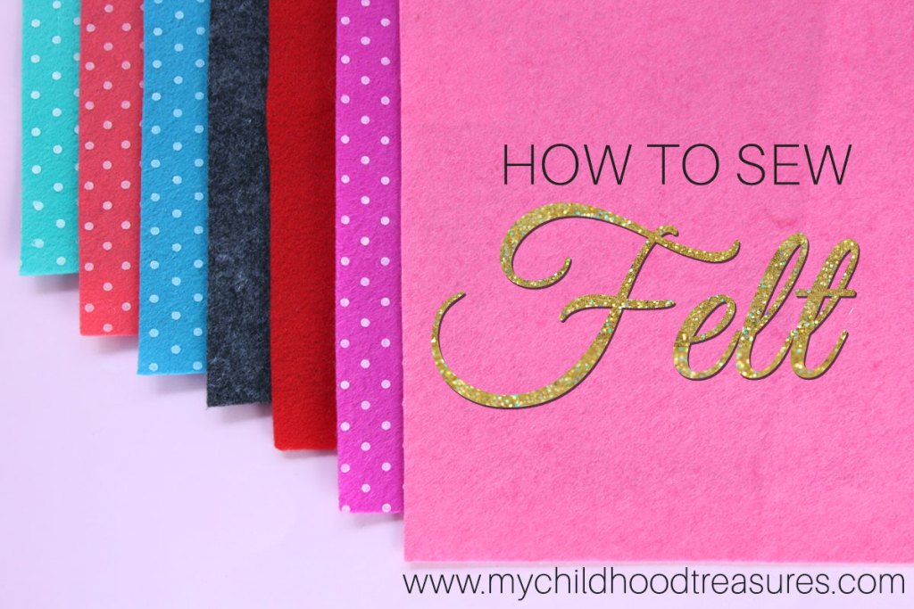how to sew felt