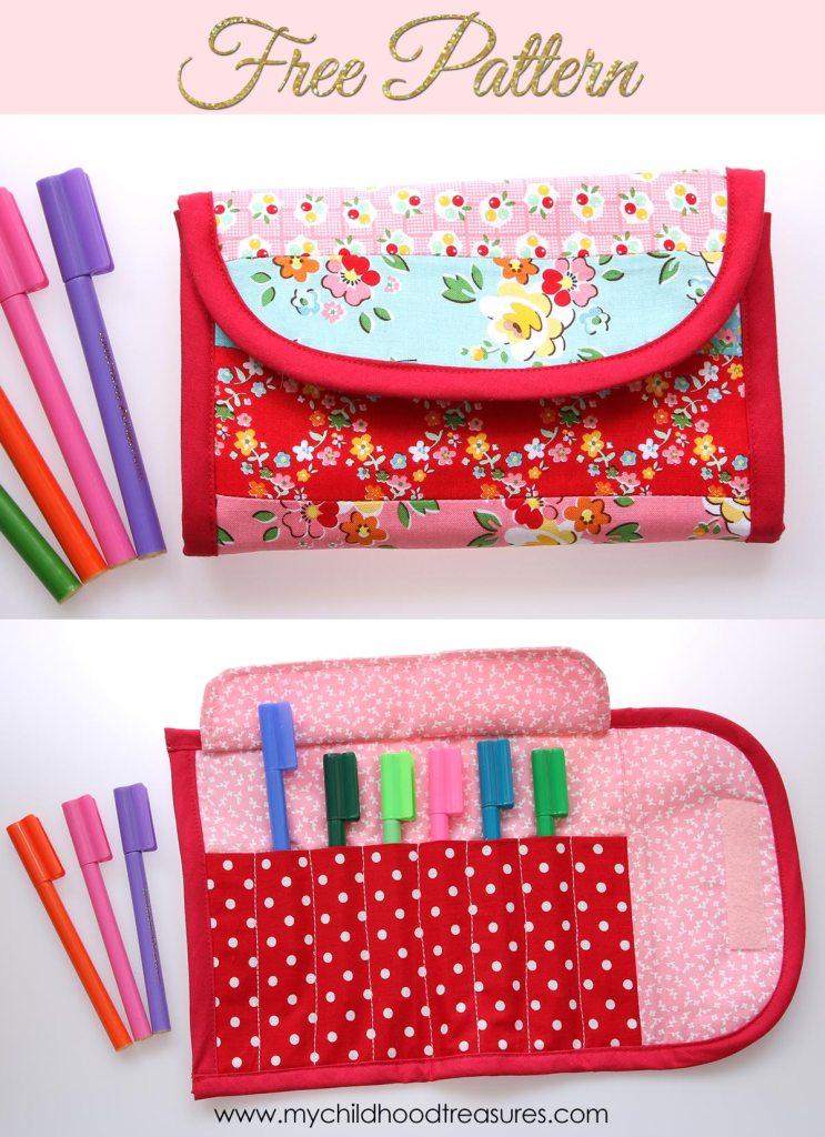 DIY pen storage for kids