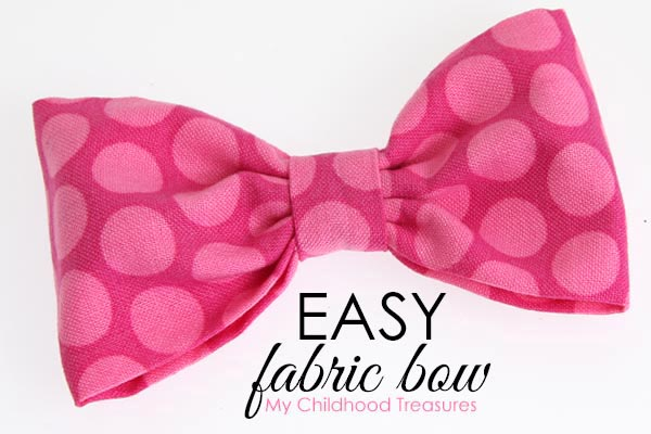 how to make fabric bows
