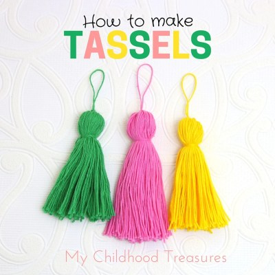 How to Make Tassels – Perfect Yarn Tassels to DIY