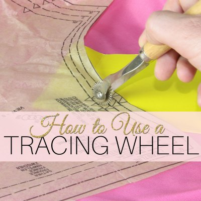 How to Use a Tracing Wheel: Fabric Marking Made EASY