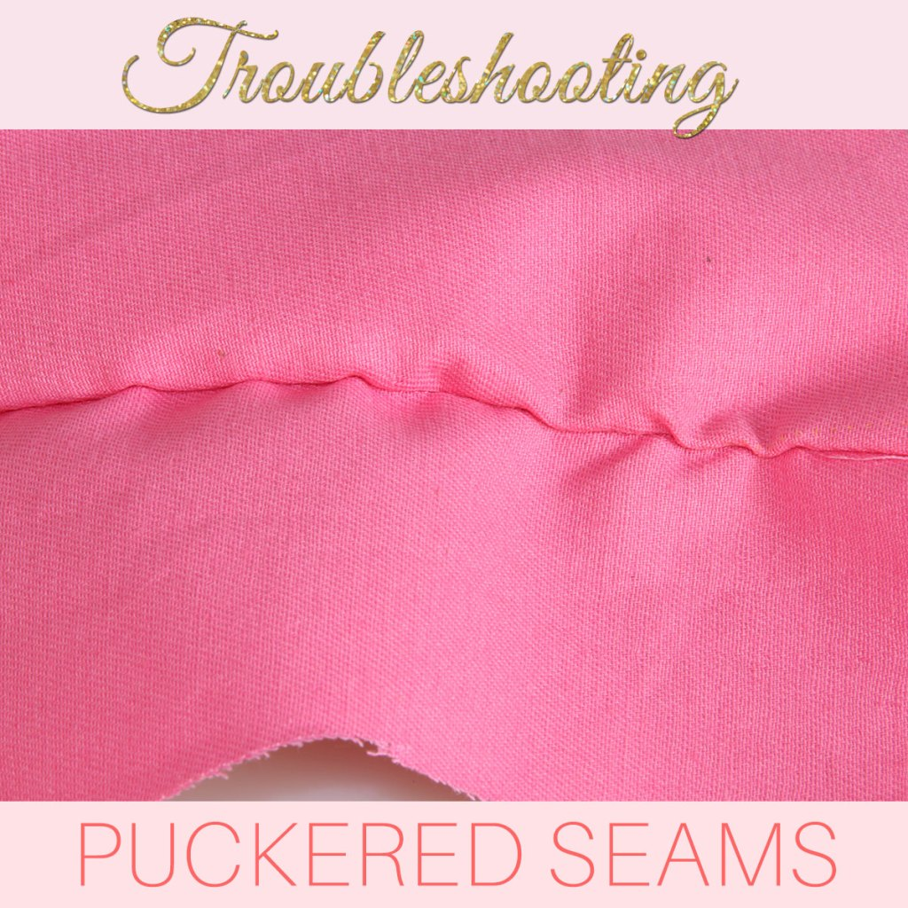 how to stop seam puckering