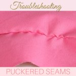 how to stop seams puckering