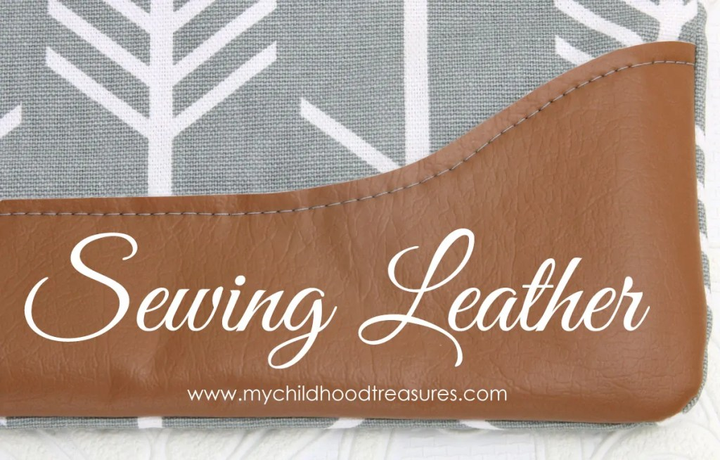 sewing leather, sewing vinyl