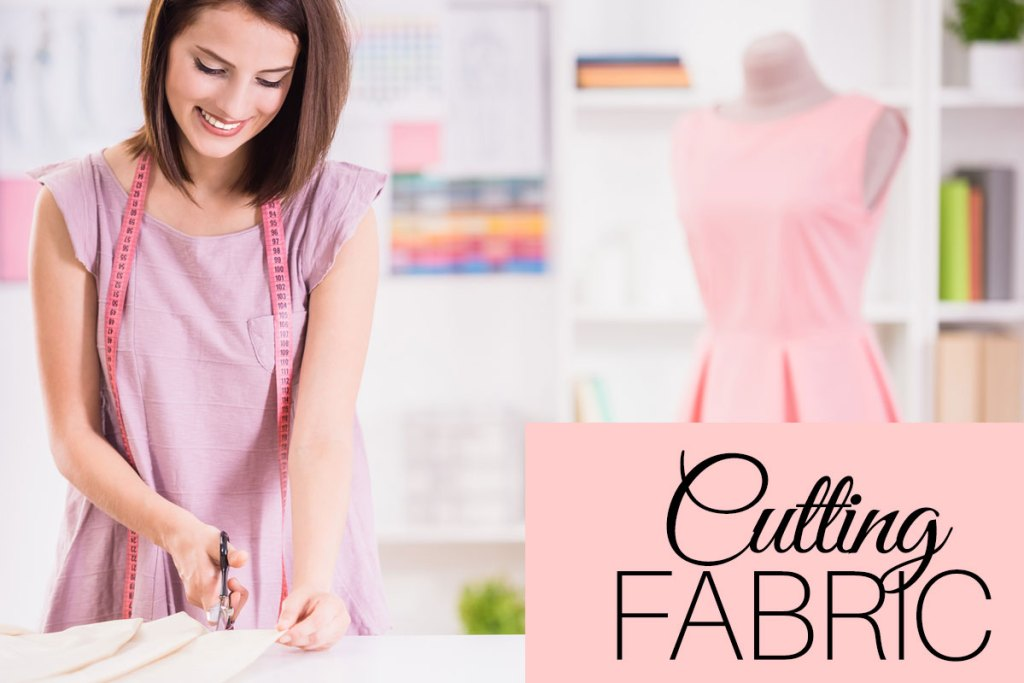 how to cut fabric