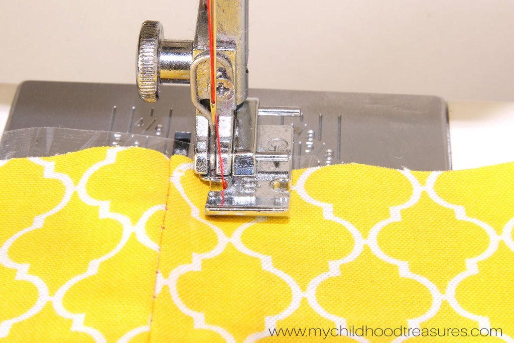 How to Sew a Zipper  - Step 8