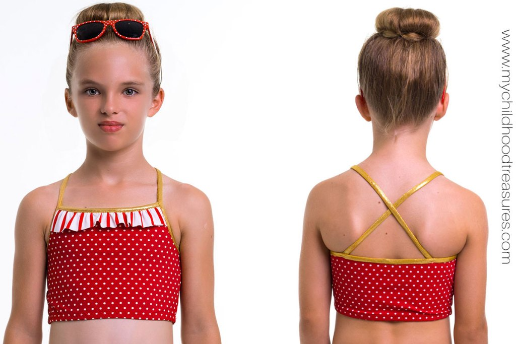 How to Sew Binding on Leotards and Swimsuits |TREASURIE