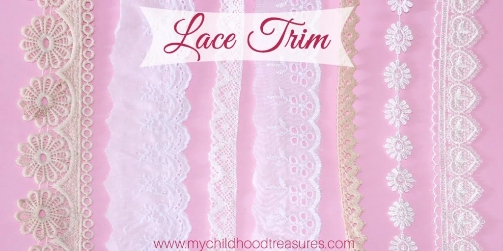 sewing lace trim