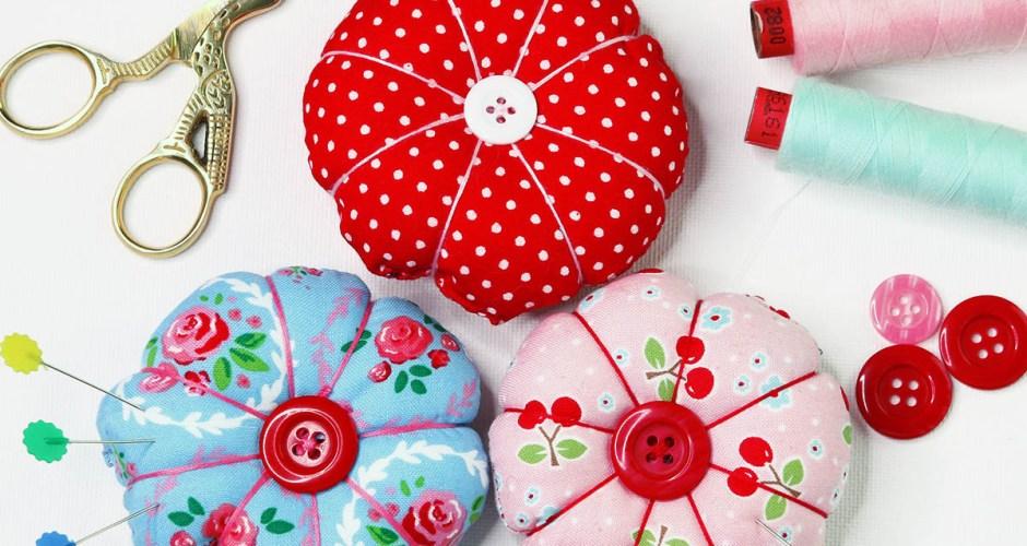 DIY Pin Cushion – Cute Round Pincushion