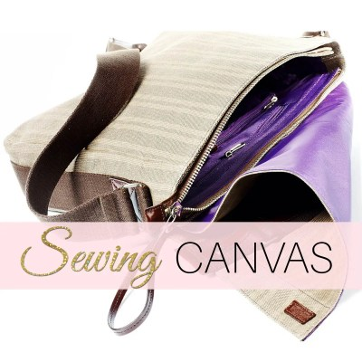 Sewing Canvas – In 3 Easy Steps