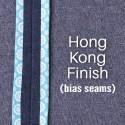 Hong Kong Finish: Bias Seams Made Easy
