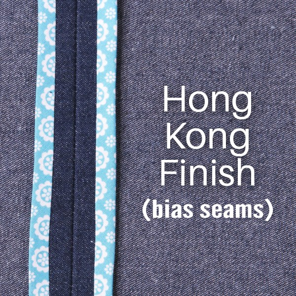 Hong Kong Finish: Bias Seams Made Easy