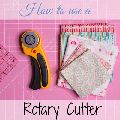how to use a rotary cutter