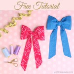 DIY Fabric Bow for Clothing