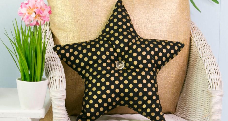 Star Pillow Pattern – Free Pattern Template