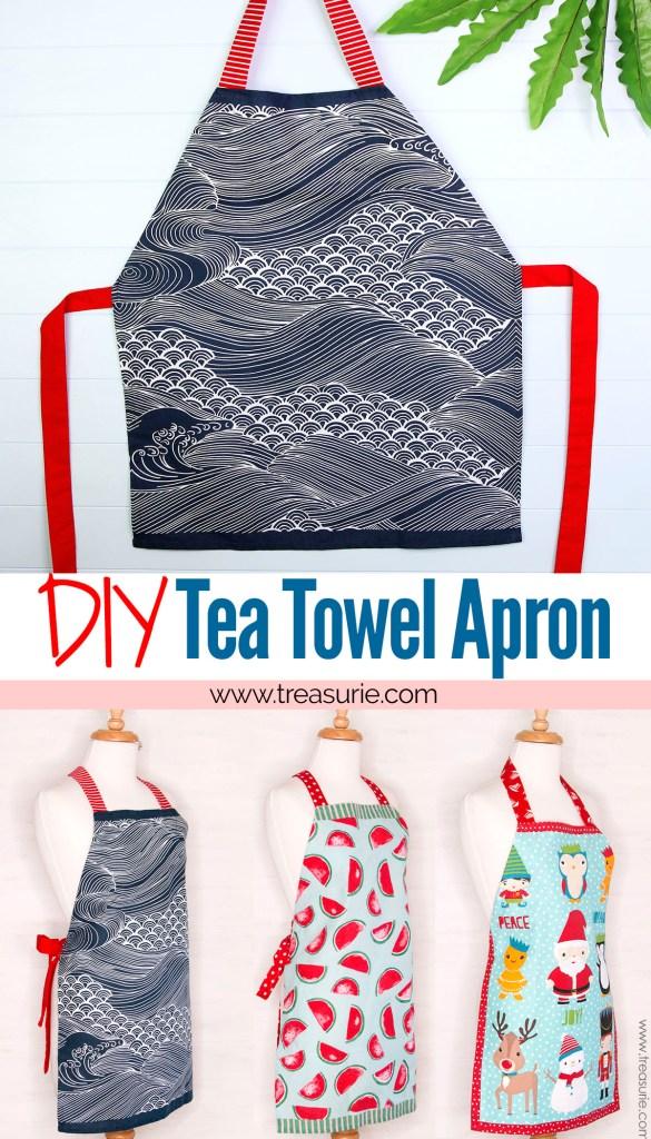 tea towel apron