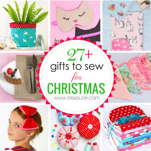 Christmas gifts to sew