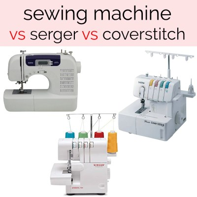 sewing machine vs coverstitch